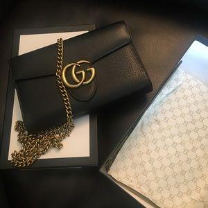 Gucci Marmont Black shoulder bag